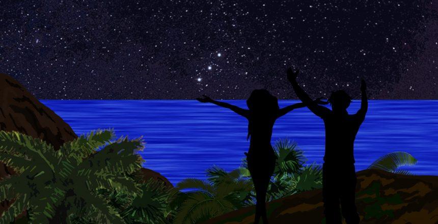 Playa nocturna